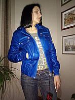 Куртка женская легкая с капюшоном