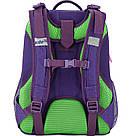 Рюкзак школьный каркасный (ранец) 703 Neon butterfly K17-703M-1, фото 3