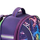 Рюкзак школьный каркасный (ранец) 703 Neon butterfly K17-703M-1, фото 5