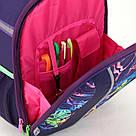 Рюкзак школьный каркасный (ранец) 703 Neon butterfly K17-703M-1, фото 6