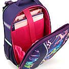 Рюкзак школьный каркасный (ранец) 703 Neon butterfly K17-703M-1, фото 7