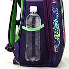 Рюкзак школьный каркасный (ранец) 703 Neon butterfly K17-703M-1, фото 8