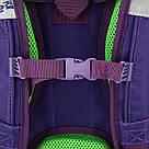 Рюкзак школьный каркасный (ранец) 703 Neon butterfly K17-703M-1, фото 9