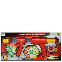 Игровое помповое ружье со снарядами