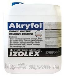 Akryfol — водный силикатно-полимерный состав, грунтовка Праймер