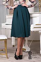 Женская юбка с бантовыми складами 1710-2