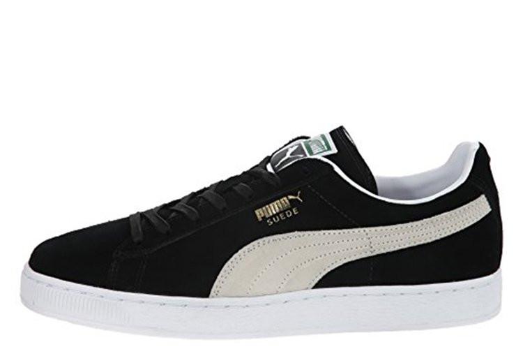 Кроссовки Мужские Puma Suede Classic Black White (в Стиле Пума) 42 — в  Категории