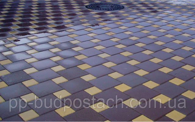 тротурной плитки «квадрат великий»