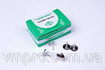 Кнопки гвоздик, хром, 50 шт, кнопки для офиса,школы,дома,№11987
