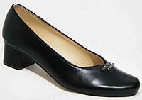 Туфли женские большого размера кожаные, женские туфли 40-44 от производителя модель МИ929К