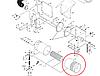 Фильтр воздушный D46442300 Massey Ferguson