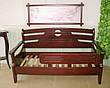 """Детский диван с бортиком """"Американка"""". Массив дерева - сосна, ольха, береза, дуб., фото 4"""