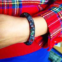 Браслет «Кристальный контраст» многоцветный