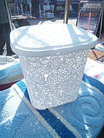 Корзинка ажур (3 цвета бежевый,белый,коричневый)