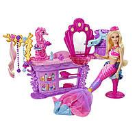 Cалон красоты Барби из м/ф Принцесса жемчужин Mattel (Unassembled) Салон Краси Барбі- русалки Луміни
