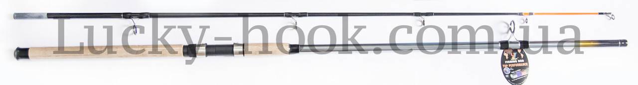 Карповое удилище Winner Titanium Carp 100-250g 2,40m, фото 2