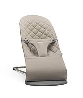 Babybjorn - кресло-шезлонг Bouncer Bliss, цвет Sand Gray