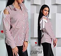 Блуза с завязками 1983, фото 1