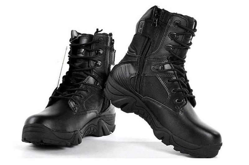 1eee8ddd6 Ботинки мужские DELTA Army Classic 9 inch Black (дельта арми) черные ...