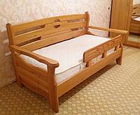 """Детская кровать """"Американка new"""". Массив дерева - сосна, ольха, дуб."""