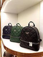 Женский рюкзак эко-кожа Gucci, декорирован молнией