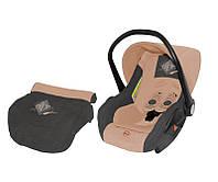 Детское автокресло Bertoni Lifesaver BEIGE&GREY  0-13 кг