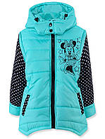 Детская куртка-трансформер Микки Маус (104,110,116,122,128,134,140,146)