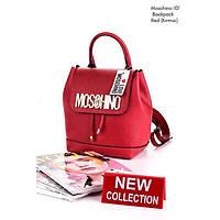 Качественный рюкзак эко-кожа Moschino