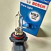 Автолампа ближнего+дальнего света+птф HB3 12V, 60W Pure Light (Bosch)