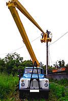 Аренда автовышки ВС-18 (автовышка локтевая- 18 метров)