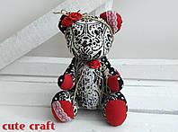 Мягкая игрушка мишка TEDDY handmade