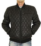 Демисезонная стеганная мужская куртка