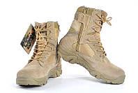Ботинки мужские DELTA Army Classic 9 inch Sand (дельта арми) бежевые