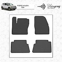 Коврики резиновые в салон Ford Kuga с 2009 (4шт) Stingray