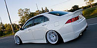"Накладки на пороги Honda Accord 7 ""Mugen"" до рестайлинг, Хонда Аккорд"