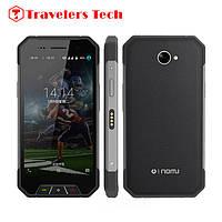 Cтильный противоударный смартфон Oinom V1600 3G,2gb/16gb черный с металлическими вставками, фото 1