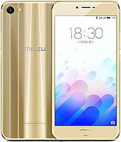 "Meizu X (M3X) Gold  3/32 Gb, 5.5"", MT6757, 3G, 4G"