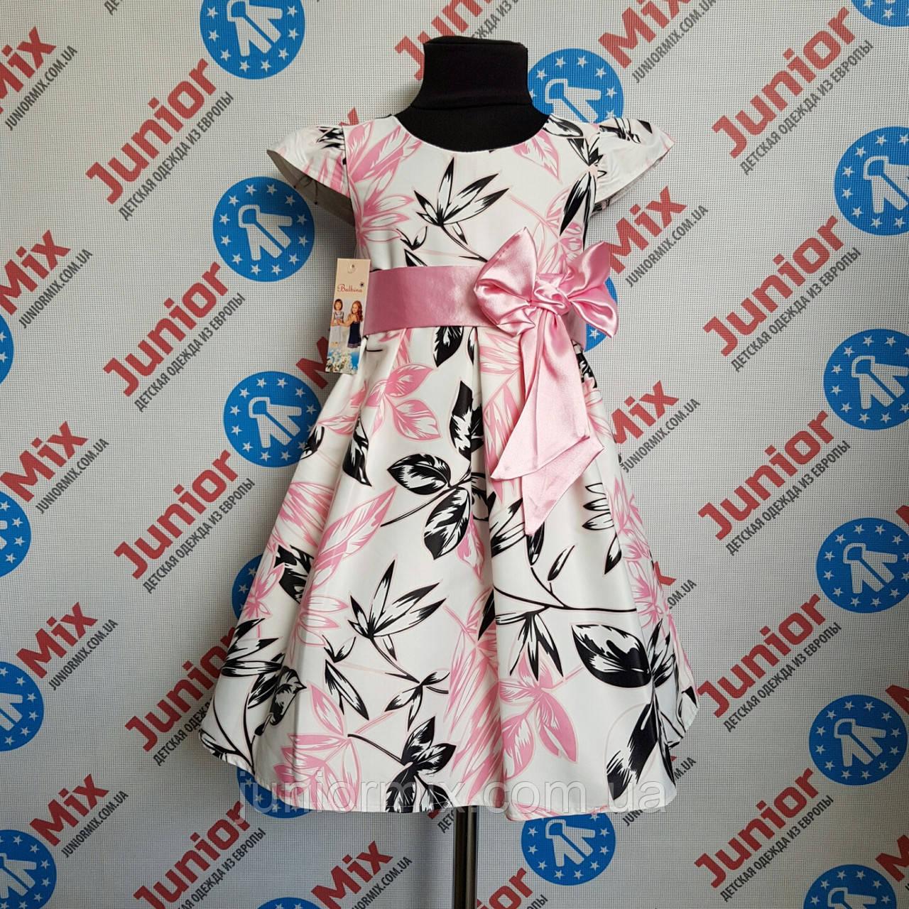 Детское нарядное Польское платья на девочку Bolbino