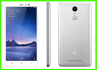 Смартфон Xiaomi redmi note 3 pro - 3/32 GB, 5/16 MP (SILVER). Оф. гарантия в Украине. Подарки: чехол + пленка!