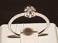 Серебряное кольцо с фианитами. Артикул 901-00689, фото 1