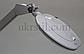 Лампа-лупа 6028 LED 3D с регулировкой яркости белый холодный и теплый свет, фото 3