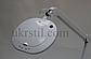 Лампа-лупа 6028 LED 3D с регулировкой яркости белый холодный и теплый свет, фото 6