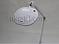 Лампа-лупа 6028 LED 3D с регулировкой яркости белый холодный и теплый свет, фото 7