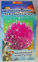 Научные игры: Волшебные кристаллы Ледниковый период Розовый 12177006Р Ранок Украина