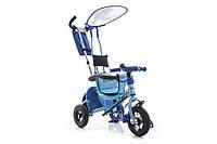 Трехколесный велосипед Azimut BC-15 An Air Safari сафари надувные колеса СИНИЙ