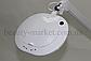 Лампа-лупа 6028 LED 3D с регулировкой яркости белый холодный и теплый свет, фото 2