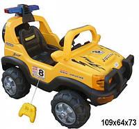 Детский электромобиль BT-BOC-0047 YELLOW джип .