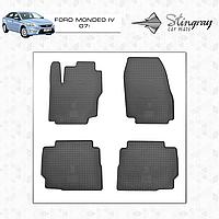 Коврики резиновые в салон Ford Mondeo c 2007 (4шт) Stingray