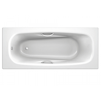 Ванна стальна Koller pool 2.8мм 170х75 Deline з ручками