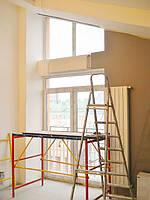 Текстильное оформление 2-х уровневой квартиры (нестандартные окна) Комфорт Таун 1